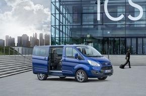 Ford-Werke GmbH: Ford auf dem Caravan Salon 2015: Weiteres Wachstum dank Drei-Säulen-Strategie