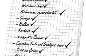 comparis.ch AG: comparis.ch ermittelt in einer Studie die Vorlieben bei Mietwohnungen - Die Traumwohnung der Schweizer