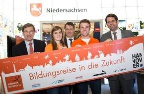 Hannover Marketing und Tourismus GmbH: Hannover lädt zur Bildungsreise in die Zukunft (FOTO)