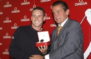 Sergio Garcia joins OMEGA's family of international ambassadors