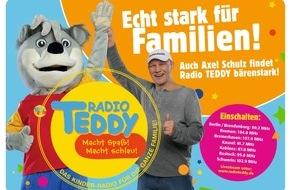 Radio TEDDY: Ein ganz Großer für die Kleinen - Box-Legende Axel Schulz unterstützt Familiensender Radio TEDDY