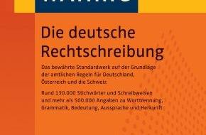 """wissenmedia in der inmediaONE] GmbH: """"WAHRIG Die deutsche Rechtschreibung"""" neu erschienen (mit Bild) / Die Rechtschreibung bleibt - die Wörter ändern sich"""