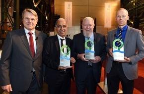 Deutsche Bundesstiftung Umwelt (DBU): Deutscher Umweltpreis 2015: Weckruf zum Schutz der Erde