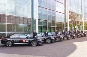 Skoda Auto Deutschland GmbH: SKODA macht den SPORT BILD-Award mobil