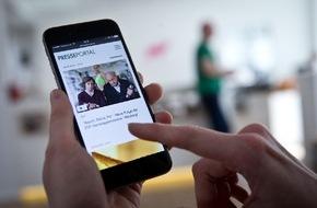 news aktuell GmbH: PR-Inhalte immer und überall: Neue Version von Presseportal.de für Smartphones ist online (FOTO)