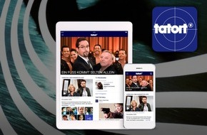 """ARD Das Erste: Das Erste / Es ist soweit: Die """"Tatort""""-App ist da / Die erfolgreichste Krimi-Reihe Deutschlands ab heute rund um die Uhr auf Smartphone und Tablet"""