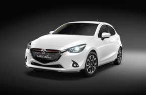 """Mazda (Suisse) SA: Mazda2 """"Swiss Edition"""": Una versione speciale per la Svizzera di un'auto venduta in tutto il mondo / Il modello speciale destinato alla Svizzera"""