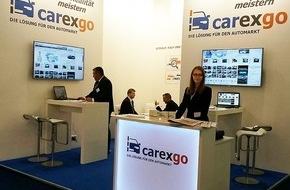 carexgo GmbH: Carexgo enthüllt auf der IAA 2015 sein immenses Potential für den Handel