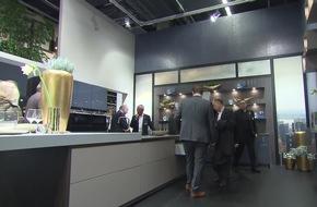 """Inspirationen für das Herz der Küche / BLANCO auf der imm cologne - """"LivingKitchen"""" in Köln"""