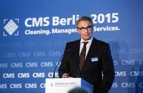 Messe Berlin GmbH: Statement von Thomas Dietrich, Bundesinnungsmeister des Gebäudereiniger-Handwerks zur CMS 2015