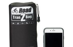 TranZbag.com: Weltrekord aus der Schweiz / Faltbare Velo-Transporttasche TranZbag ROAD passt in Velo-Jersey