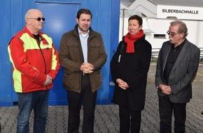 BRITA GmbH: BRITA unterstützt mit der Weihnachtsspende 2015 die Erstversorgung von Flüchtlingen in Taunusstein / Aufbau von beheizbaren Containern und einem leitungsgebundenen Wasserspender