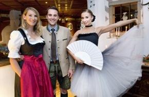 Seehotel Jägerwirt: Karina Sarkissova tanzte im Romantik Seehotel Jägerwirt