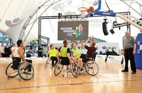 """Deutsche Gesetzliche Unfallversicherung (DGUV): Der """"Tag ohne Grenzen"""" wirbt für Inklusion / Großer Aktionstag des Reha- und Behindertensports in Hamburg"""