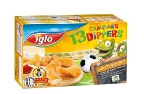 iglo Deutschland: Dippen, snacken, anfeuern: iglo präsentiert knuspriges Snack-Vergnügen zum Fußball-Event des Jahres (FOTO)