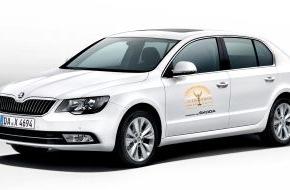 Skoda Auto Deutschland GmbH: SKODA ist offizieller Partner des Jupiter Award