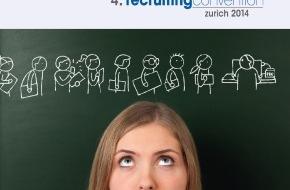 Prospective Media Services AG: 4. recruitingconvention zurich am 30.9.2014 im Lake Side / Die erfolgreiche Rekrutierungs-Tagung wird von Prospective zum vierten Mal durchgeführt