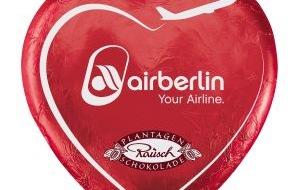 """Air Berlin PLC: """"Lovers in the air"""": airberlin versüßt Fernbeziehungen"""