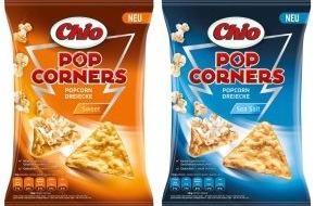 Intersnack Knabber-Gebäck GmbH & Co. KG: Mein Popcorn hat drei Ecken! / Chio PopCorners - das erste Popcorn in Dreiecksform