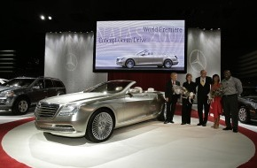 Daimler AG: Mercedes-Benz at the North American Auto Show 2007 January 7, 2007 / BLUETEC, new AWD Technology and a Fascinating Luxury Convertible That Dreams Are Made of