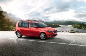 Skoda Auto Deutschland GmbH: Sondermodell SKODA Roomster Best of: reichhaltige Ausstattung mit Preisvorteil