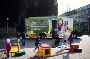 McDonald's Kinderhilfe Stiftung: Kindergesundheitsmobil geht in die Verlängerung (FOTO)