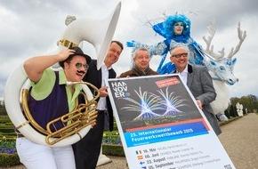 Hannover Marketing und Tourismus GmbH: Der Internationale Feuerwerkswettbewerb in Hannover Herrenhausen präsentiert zum 25-jährigen Jubiläum Top-Teams aus aller Welt