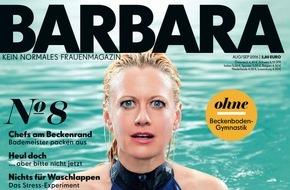 """Gruner+Jahr, BARBARA: Ildikó von Kürthy: """"Das Wasser ist mein Element. An Land bin ich deutlich unbeholfener."""""""