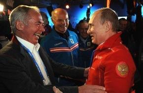 Tirol Werbung: Ischgl Night im Austria Tirol House mit Präsident Putin und Gold-Feier von Mayer - BILD/VIDEO