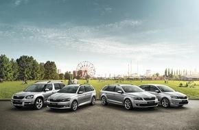 Skoda Auto Deutschland GmbH: Grund zur Freude: SKODA präsentiert die neue Sondermodellreihe 'Joy'