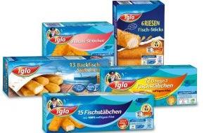 iglo Deutschland: Leckere Vielfalt für jeden Geschmack: iglo präsentiert sein Fischstäbchen-Sortiment