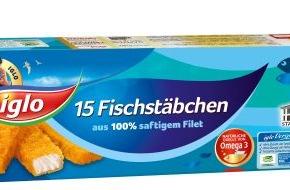 iglo Deutschland: Einzigartig und lecker - die iglo Fischstäbchen mit der original Goldknusperpanade