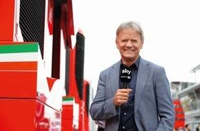 Sky Deutschland: Sky Experte Marc Surer feiert in Hockenheim sein 20-jähriges Jubiläum