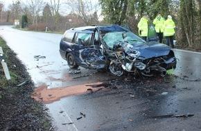 Verletzte bei Unfall