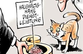 Bundesgeschäftsstelle Landesbausparkassen (LBS): Katzenfreundliche Justiz / Betreuung eines Tieres kann als haushaltsnahe Dienstleistung gelten