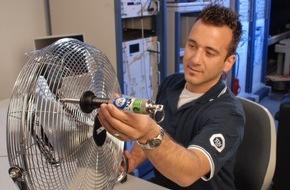 TÜV SÜD AG: Ventilatoren - Kühle Räume an heißen Sommertagen