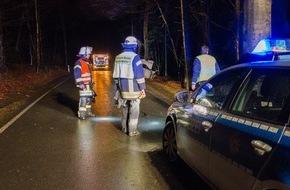 Freiwillige Feuerwehr Menden: FW Menden: Verkehrsunfall in Menden