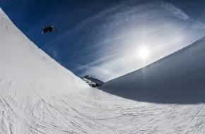Tourismusbüro Kühtai: 14.-16.03.2014 Shred Down Austrian Masters von FIS und n.asa: Treffen der Generationen auf der Superpipe im Kühtai auf 2.020 Metern