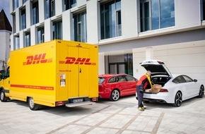 Audi AG: Audi liefert mit DHL und Amazon das Komfort-Paket