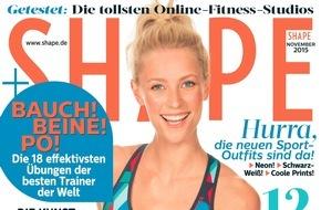 """Bauer Media Group, Shape: Shape macht fit: Abnehmen im Schlaf Dank """"Mindslimming"""""""