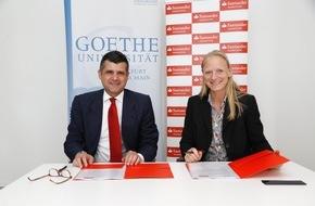 Santander Consumer Bank AG: Santander und Goethe-Universität Frankfurt verlängern Partnerschaft