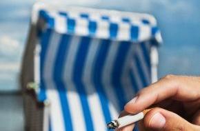 """British American Tobacco (Germany) GmbH: Aktion """"Sauber bleiben"""" an Nord- und Ostsee: Strandascher für eine saubere Küste"""