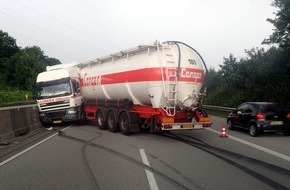 Verkehrsdirektion Mainz: POL-VDMZ: Anzeigen für Gaffer auf der Autobahn