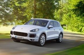 Porsche Schweiz AG: Noch effizienter und dynamischer: Der neue Porsche Cayenne / Fortsetzung einer Erfolgsgeschichte