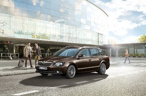 Skoda Auto Deutschland GmbH: Sondermodell SKODA Superb Best of mit umfangreicher Ausstattung und attraktivem Preisvorteil