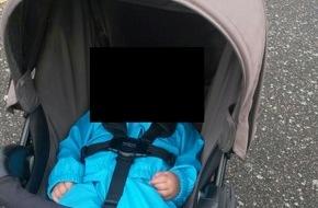 Polizeipräsidium Südhessen: POL-DA: Zwingenberg: Kinderwagen gestohlen / Wer kann Hinweise geben?