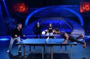 """ProSieben Television GmbH: Duell der Champions: Stefan Effenberg gegen Daniel Aminati bei """"Schlag den Star"""" auf ProSieben"""