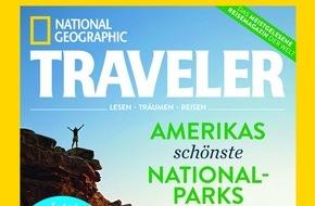 Gruner+Jahr, NATIONAL GEOGRAPHIC DEUTSCHLAND: NATIONAL GEOGRAPHIC TRAVELER jetzt auch in Deutschland
