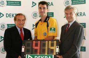 Dekra SE: Innovatives Engagement im Fußball-Sponsoring: DEKRA wird offizieller Partner der DFB-Schiedsrichter