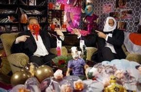 """Tele 5: OBER-Held mit UNTER-Hose! """"SchleFaZ: Hentai Kamen"""" am 04.12. um 22:00 Uhr auf TELE 5"""